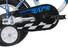"Vermont Race Boys Børnecykel 12"" blå"